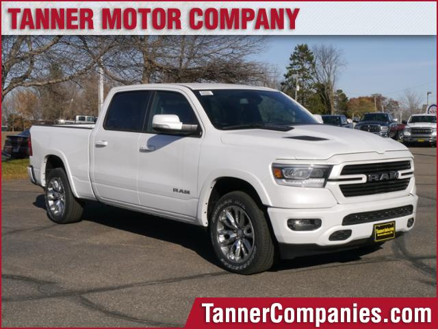 New 2019 RAM All-New 1500 Laramie 4x4 Crew Cab 6'4 Box