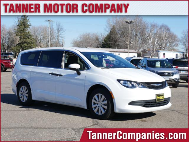 Chrysler Pacifica Van >> New 2019 Chrysler Pacifica L
