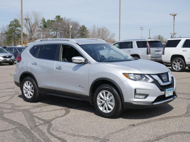 Pre Owned 2017 Nissan Rogue Sv Hybrid Sport Utility In Brainerd 690566 Tanner Motors