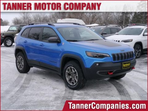 New 2020 JEEP Cherokee Trailhawk 4x4